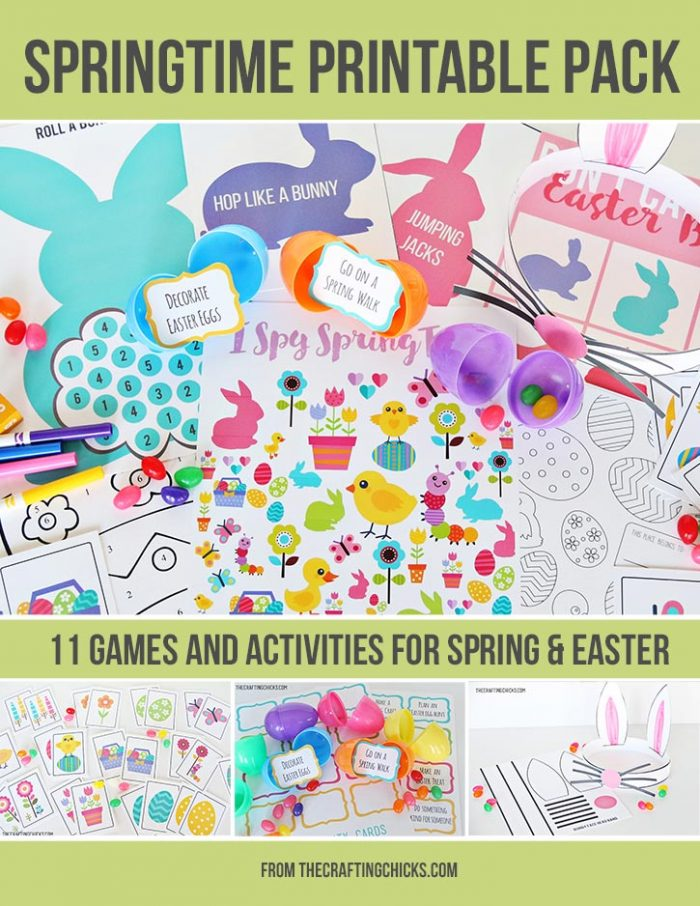 Springtime Printable Party Pack