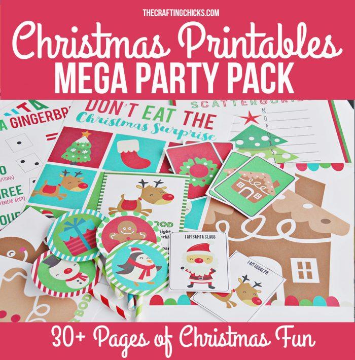 Crafting Chicks Christmas Printable Pack