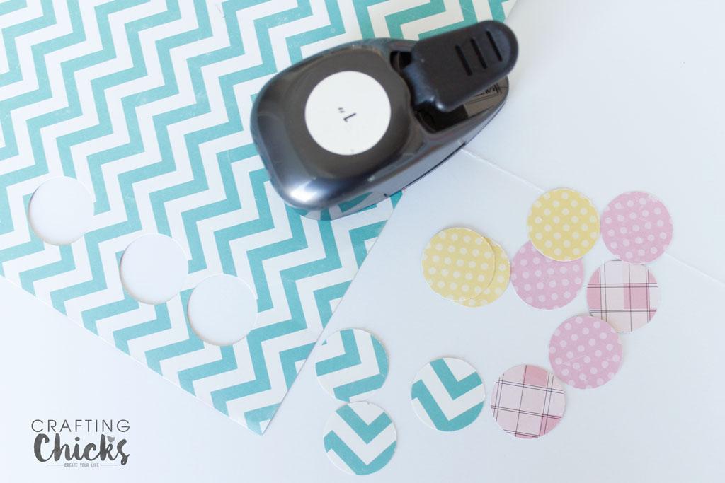 Punching circle for DIY Magnets