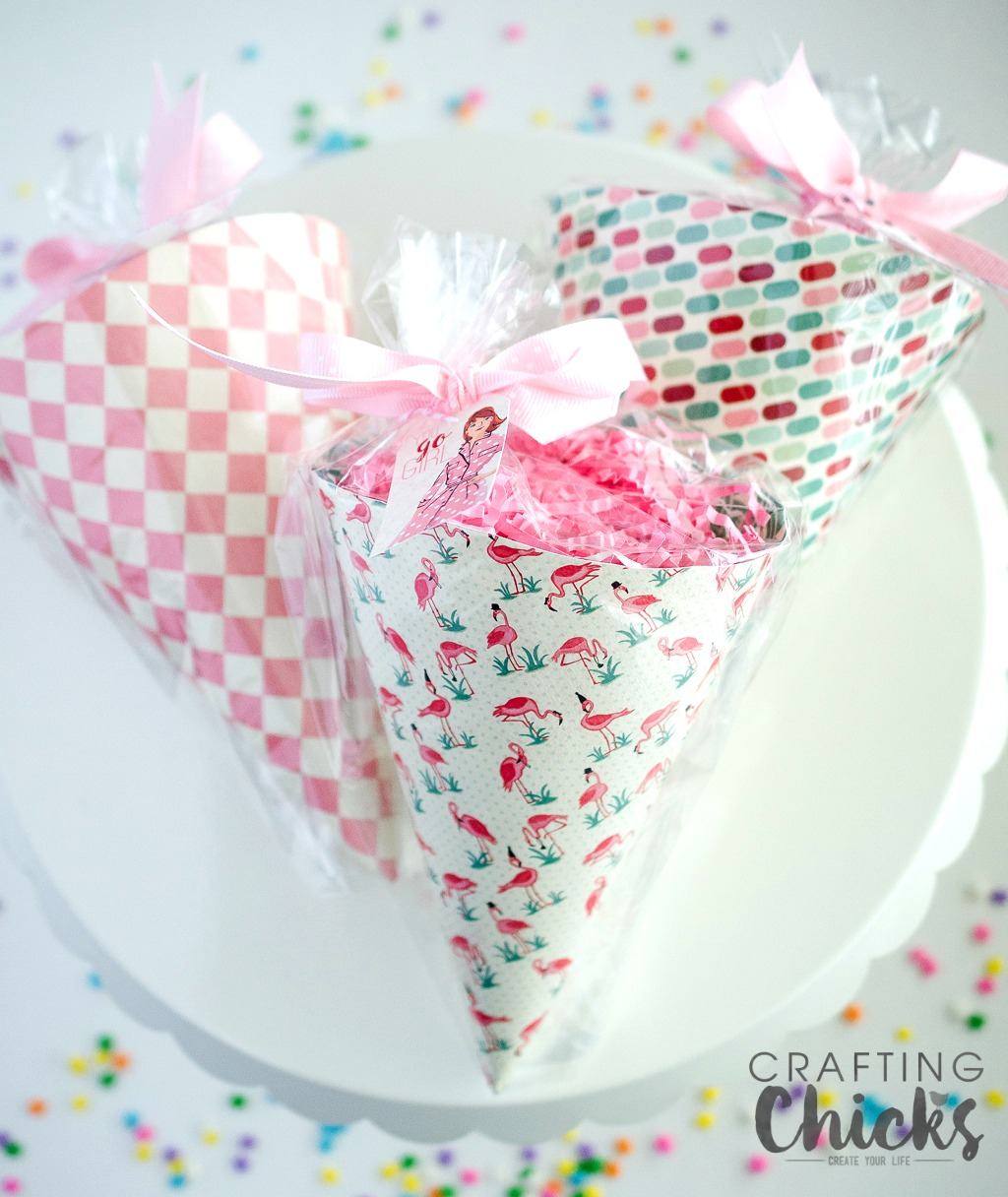 Galentine's Day Gifts are a fun way to celebrate your best gal pals. These adorable cones are sure to put a smile on the faces of all your friends.