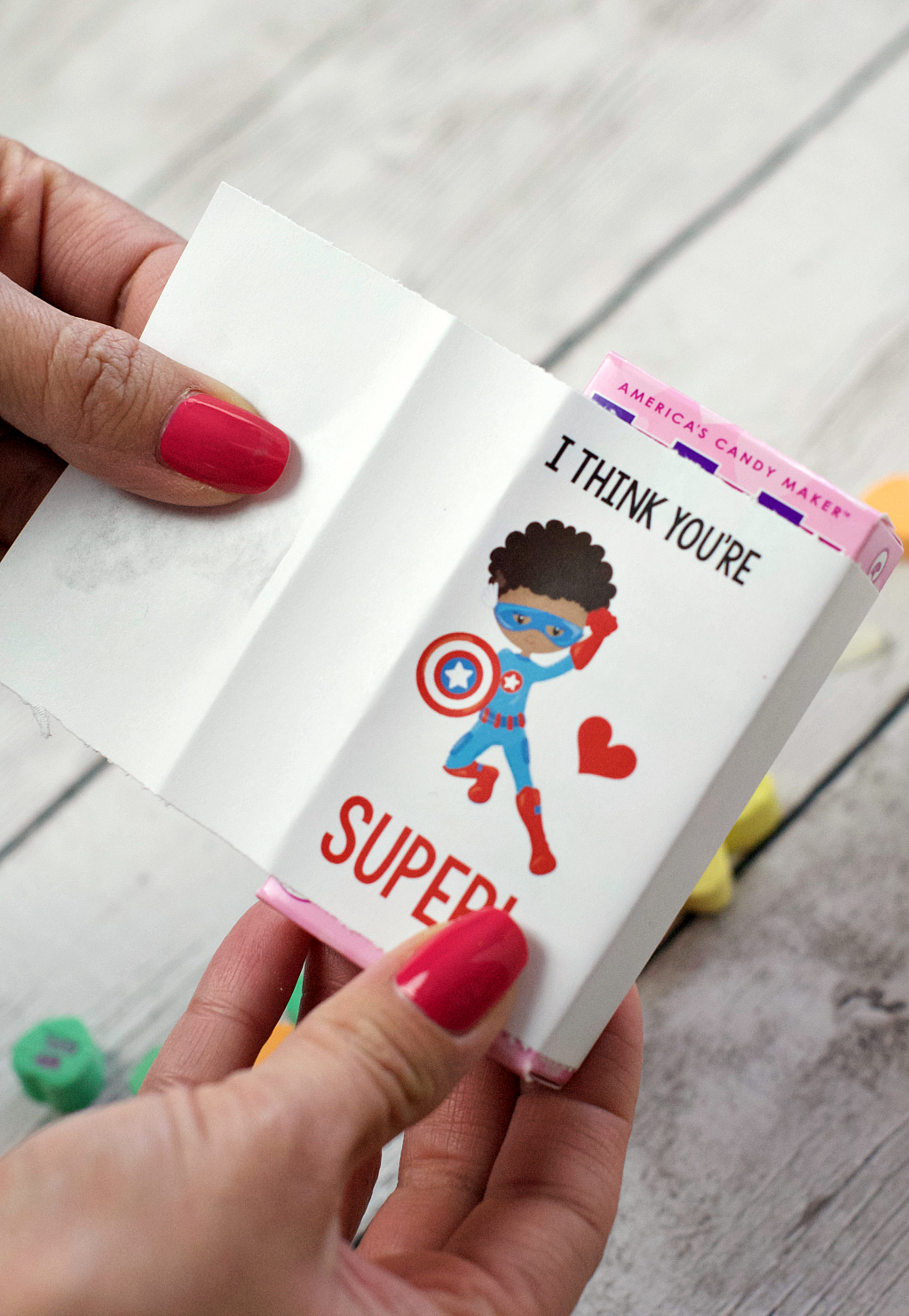 Printable Superhero Valentines for kids are an easy and fun Valentine's Day idea for boys and girls. Everyone will love them.