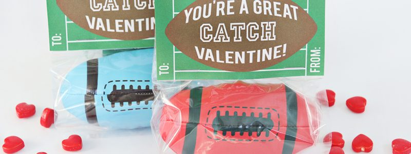 Football Valentine Printable