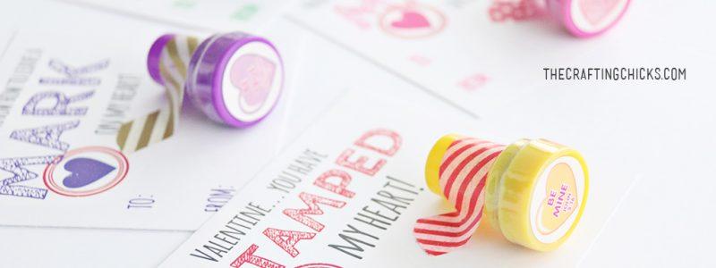 Stamp Valentine Printables