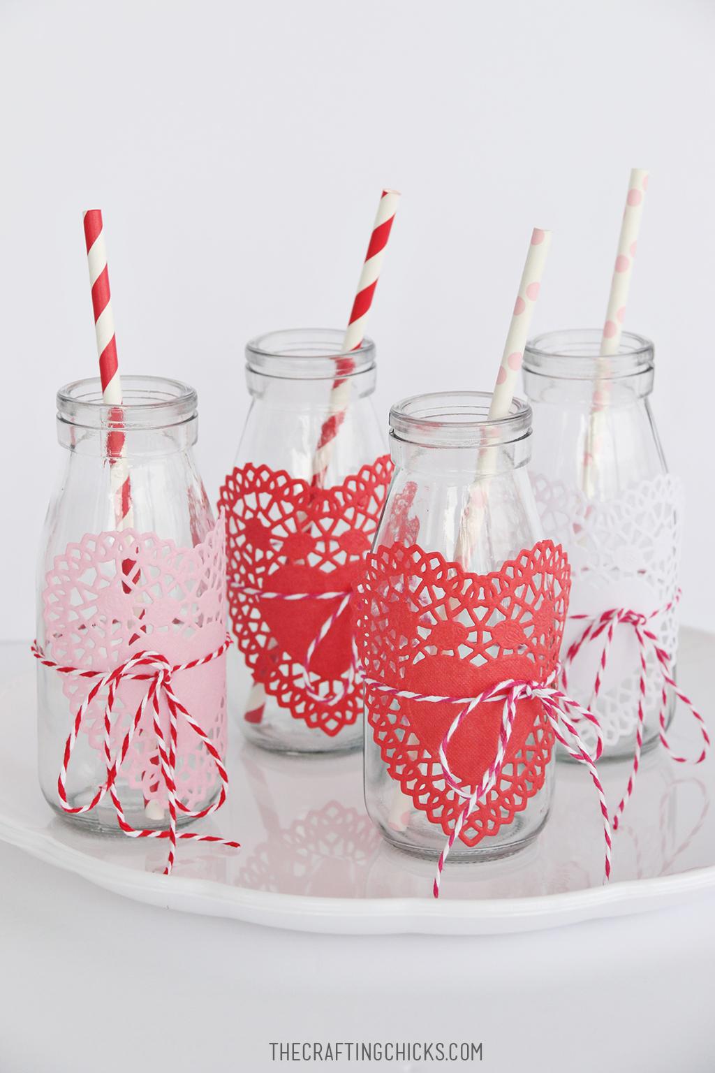 Valentine Strawberry Shake