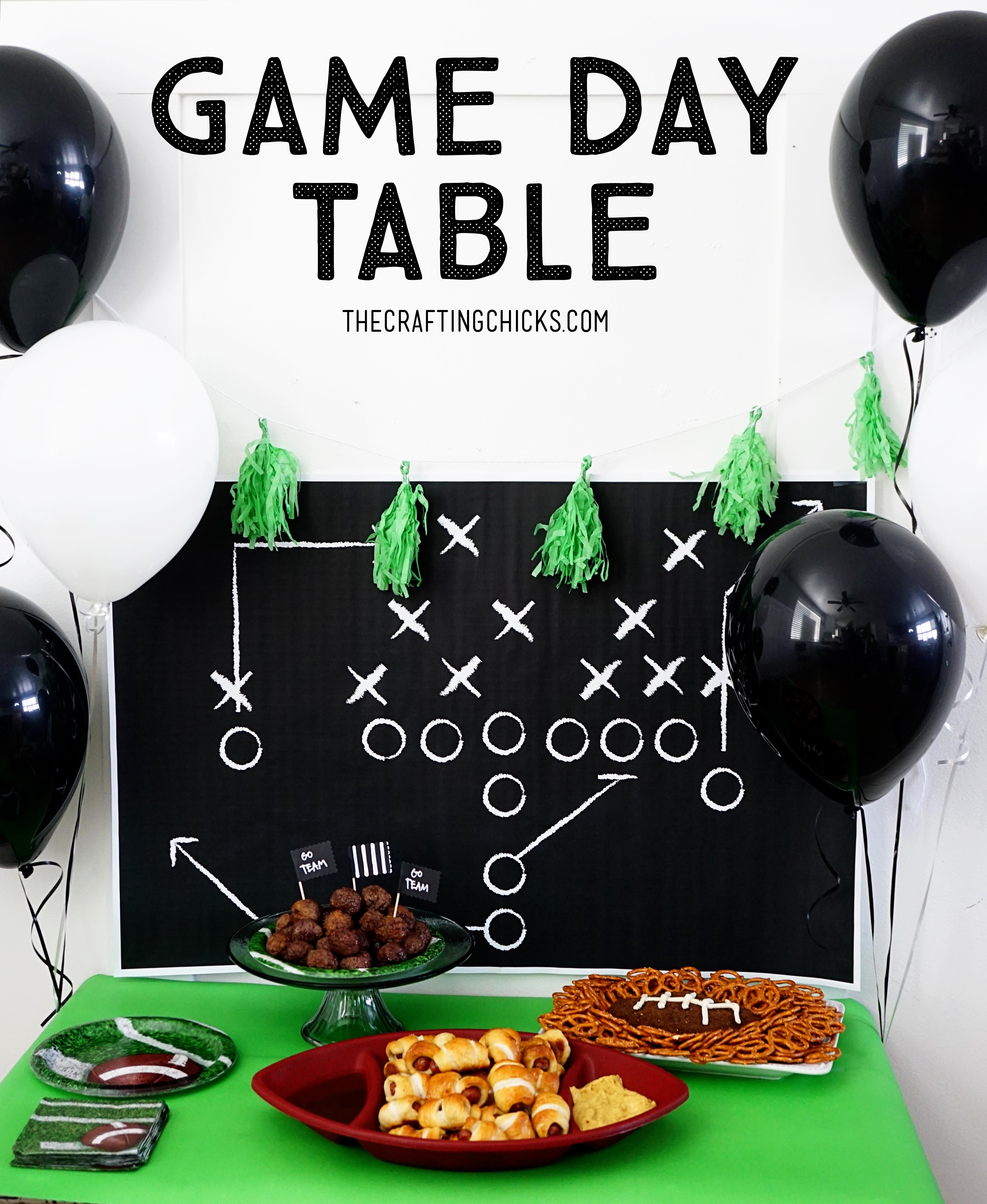 Game Day Table