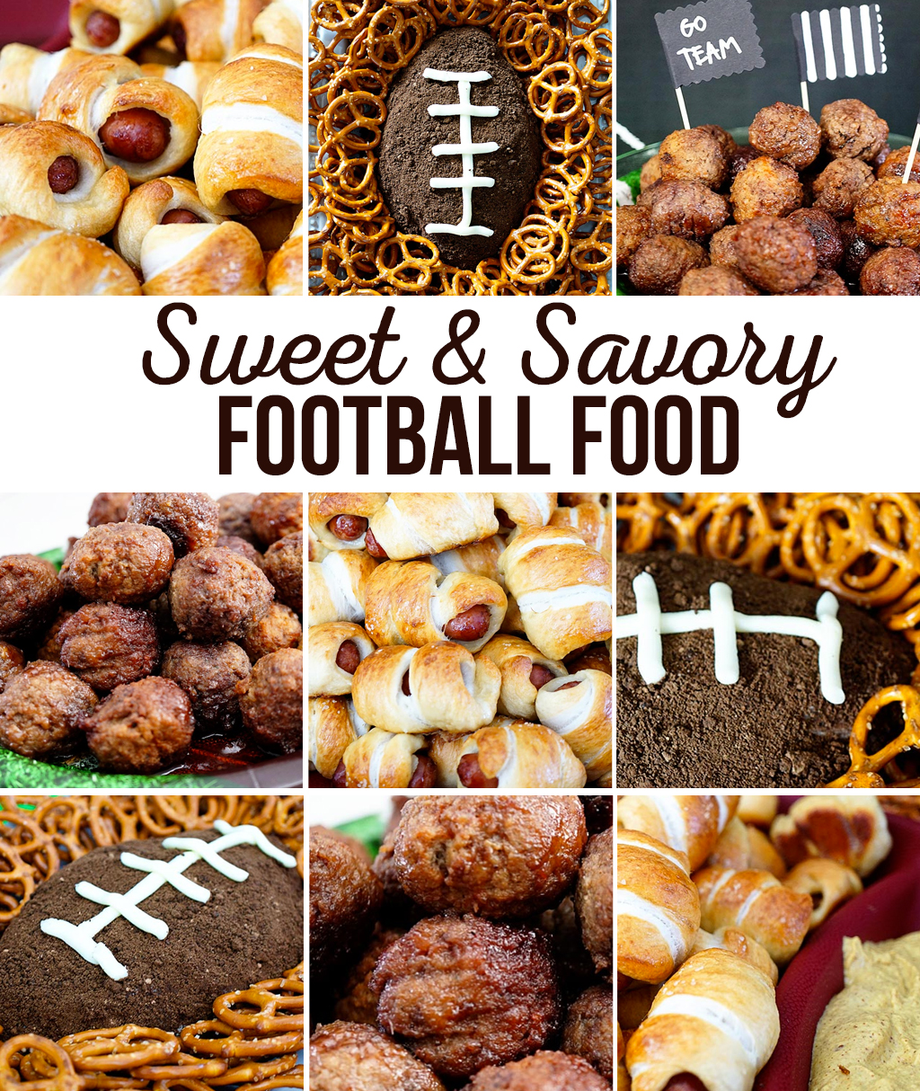 Game Day Football Food
