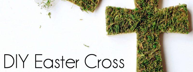 DIY Easter Cross
