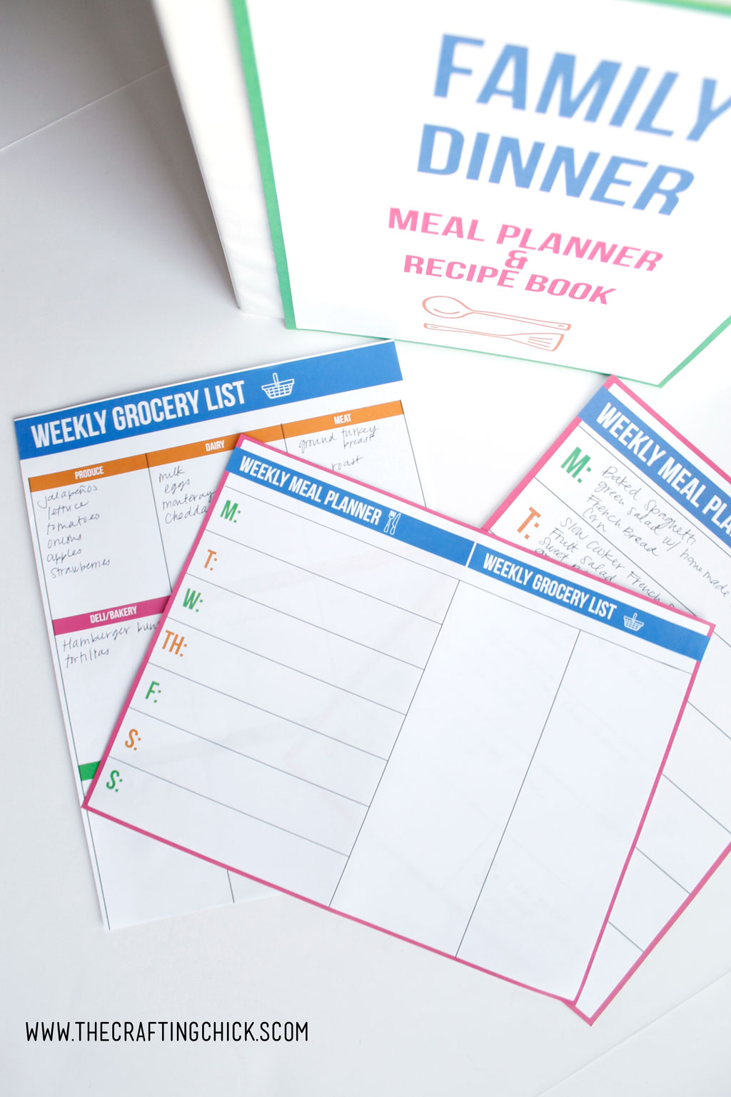 Meal Planning 101! We've got tips and ideas that will take your dinner time from stressful to done. Free printables included.