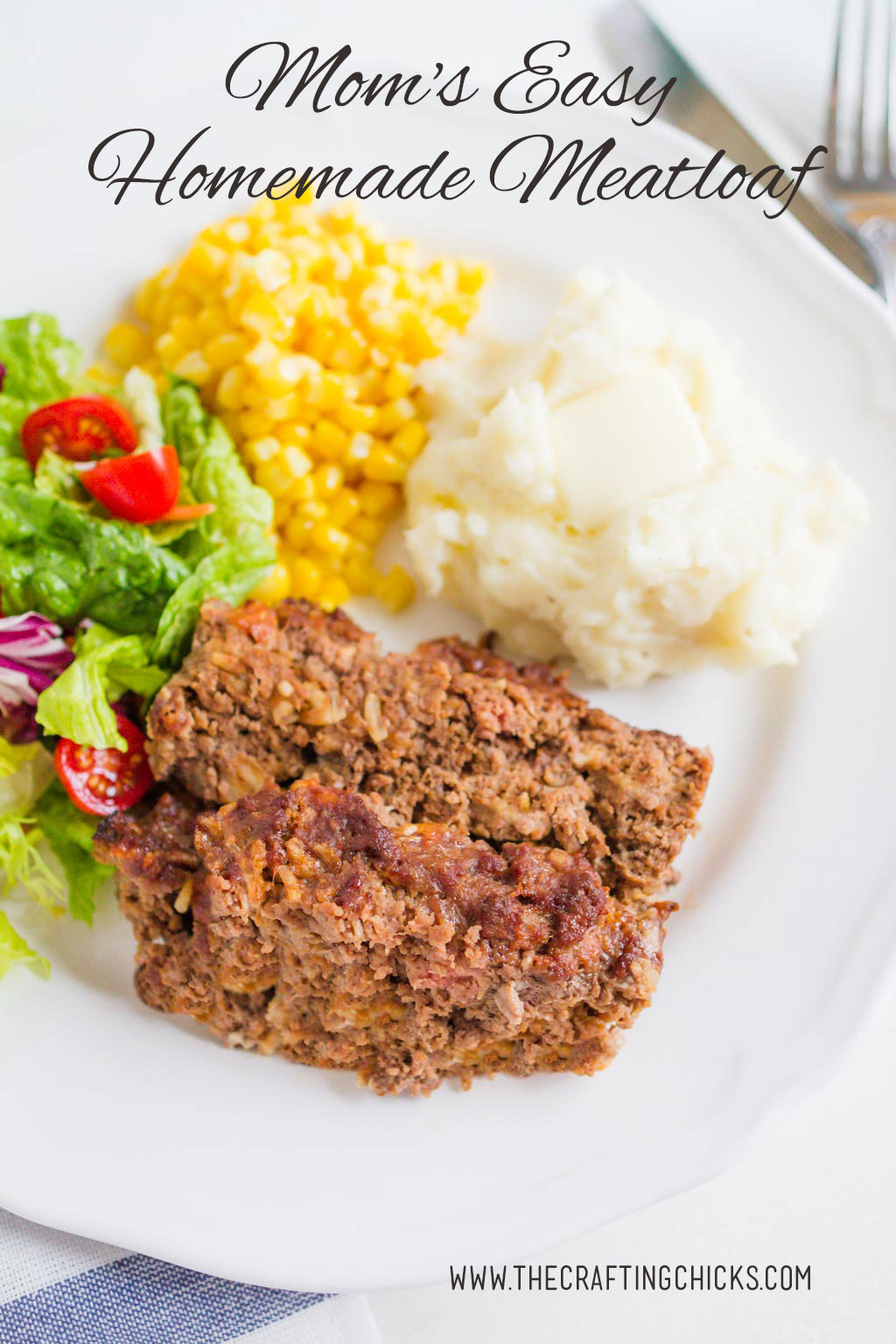 Mom's Easy Homemade Meatloaf Recipe
