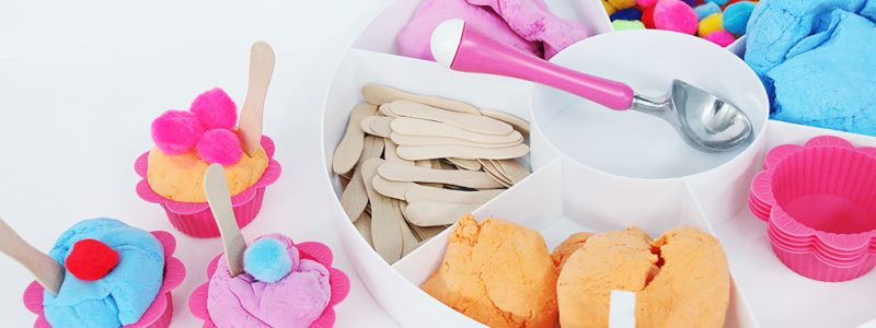Ice Cream Sensory Play with Morph