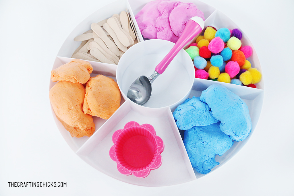 Ice Cream Sensory Play