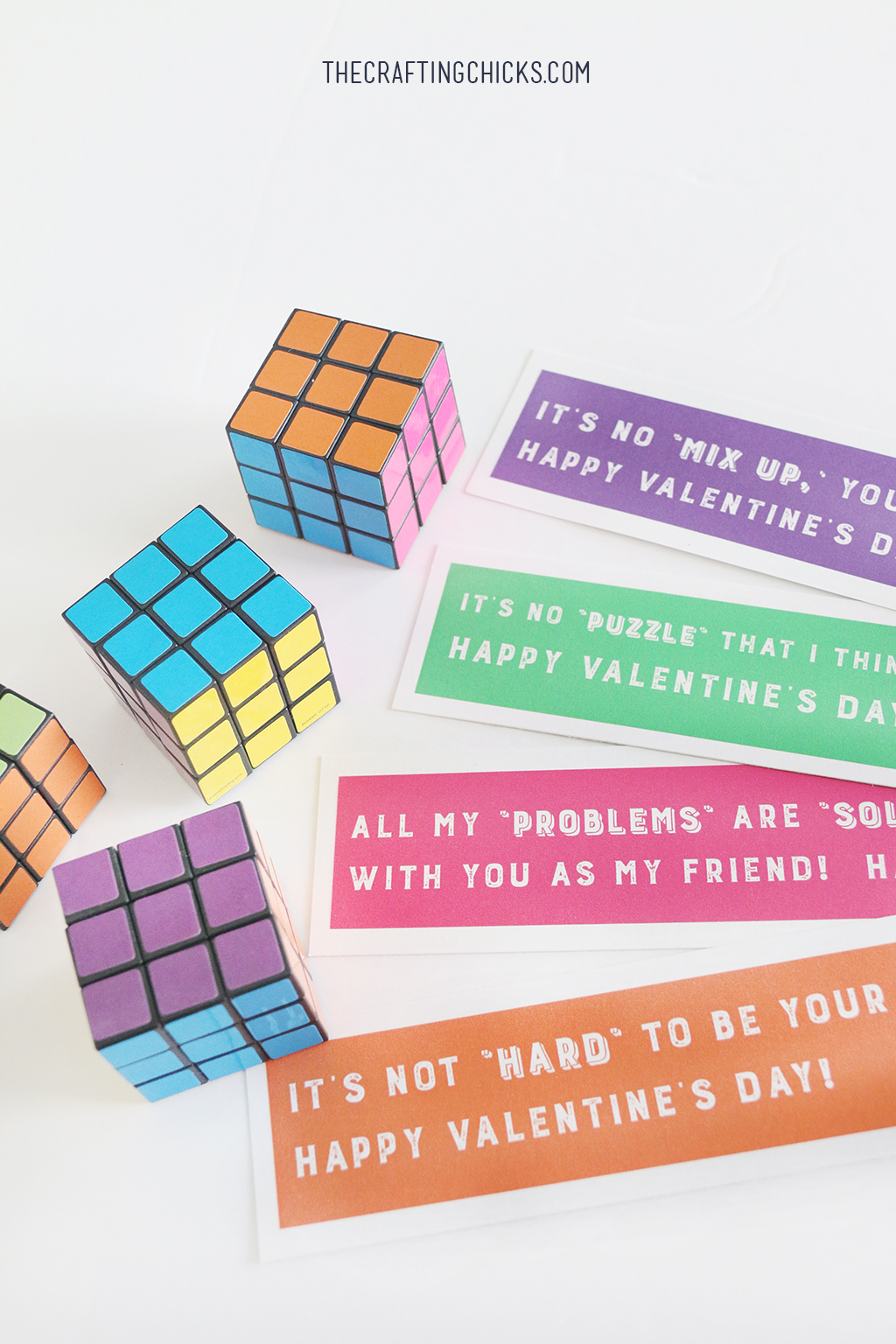 Rubix Cube Valentine Printables The Crafting Chicks