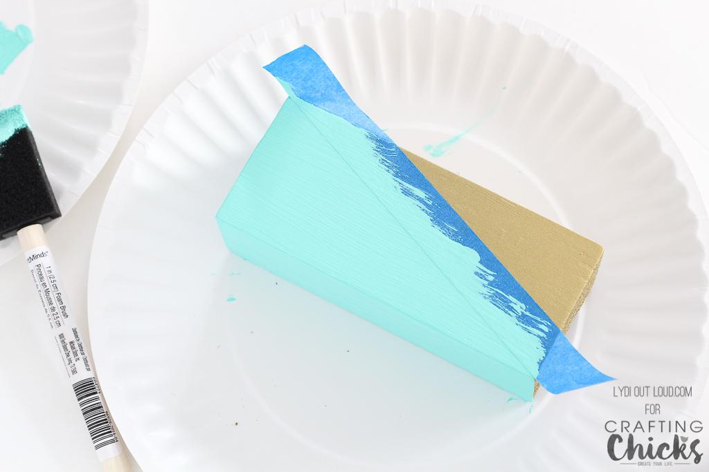 Display beautiful washi tape with this Geometric DIY Washi Tape Holder.