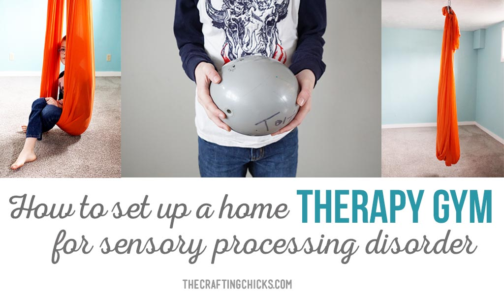 How to make a SPD home therapy gym