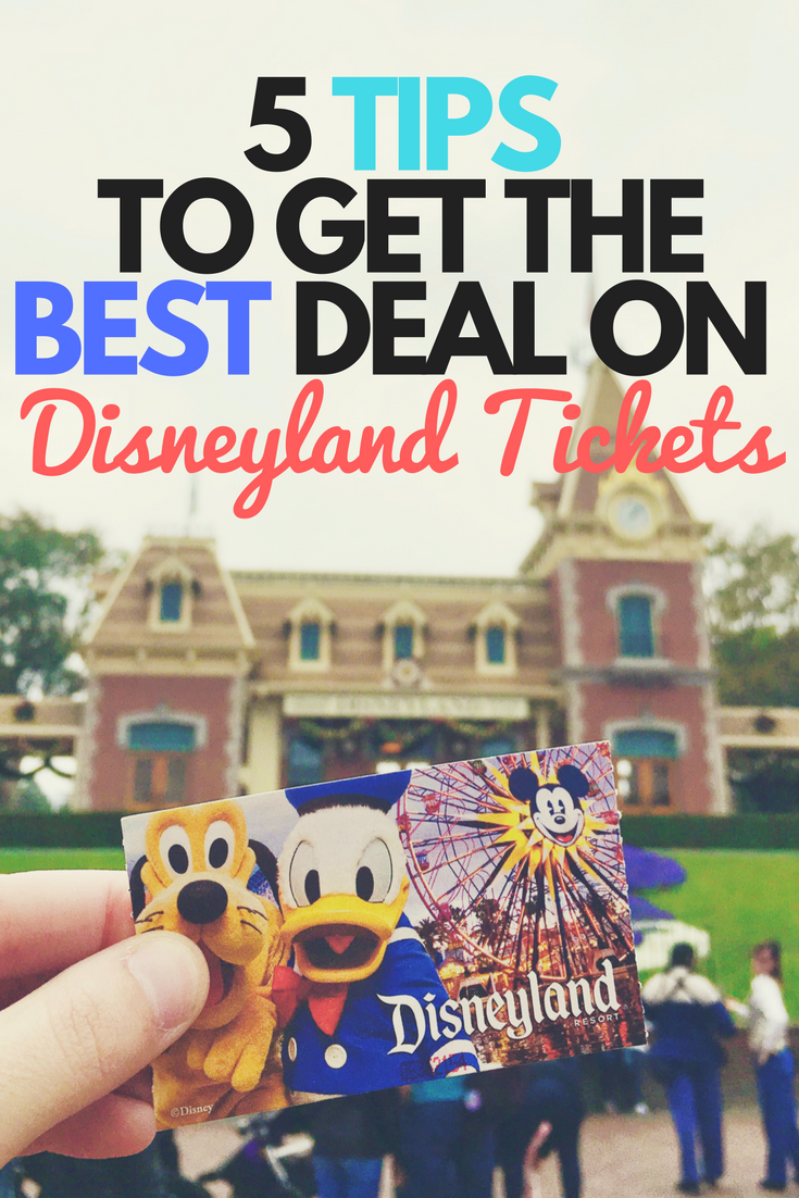 Get the lowest prices on your Disneyland tickets with these tips. We share which tickets have the best prices and where to get them.