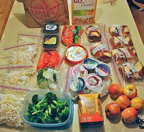 healthy homemade travel snacks
