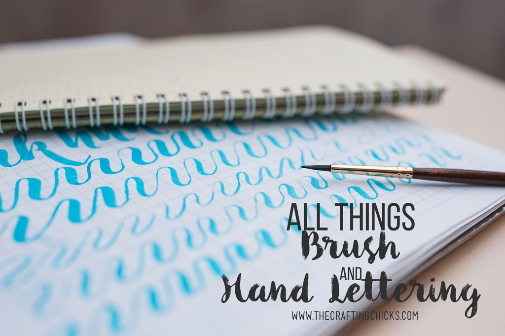 All Things Brush and Hand Lettering - Getting started with Hand Lettering - The best Supplies, Pens, Books, Stencils and Sets