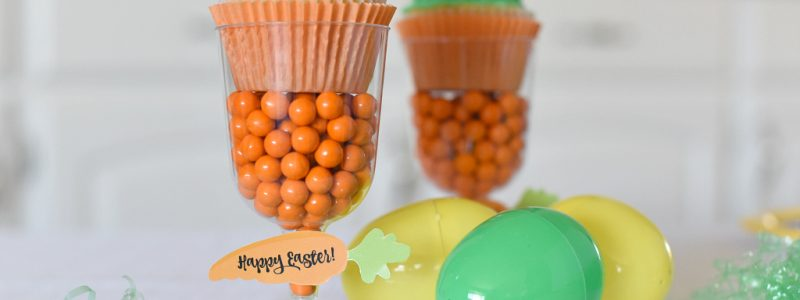 Cute Easter Carrot Cupcakes