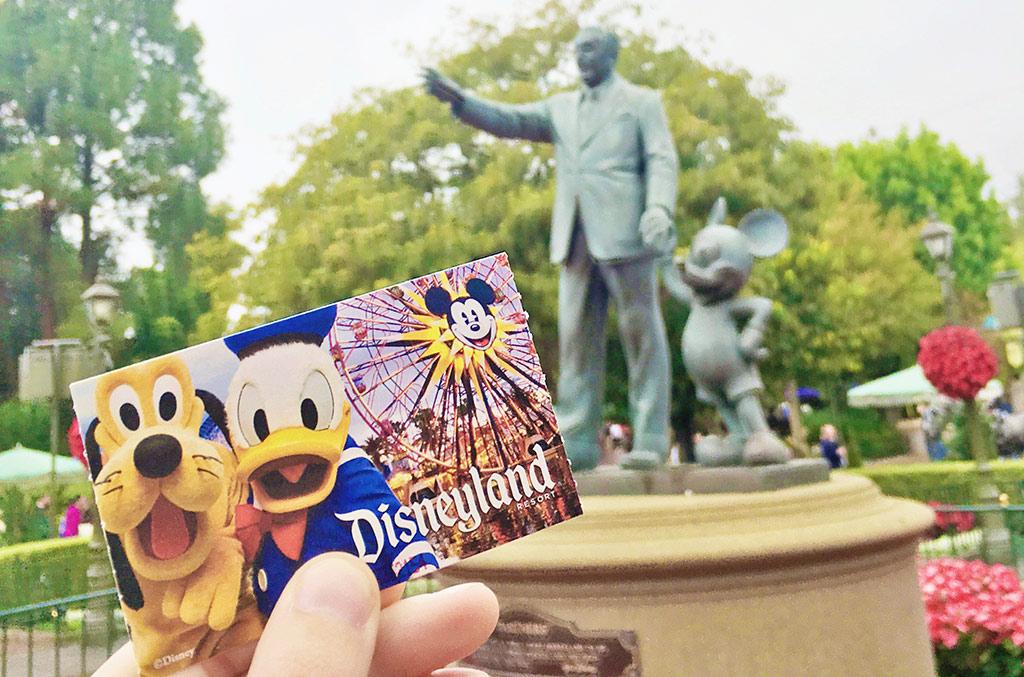 Disneyland tickets at Disneyland