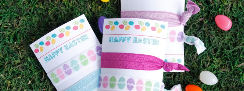 East Elastic Hair Tie Cards
