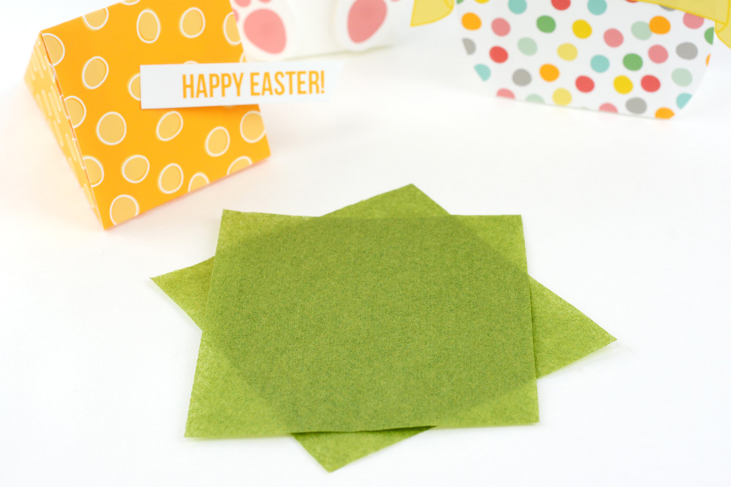 Easter Treat Box Printables tissue paper