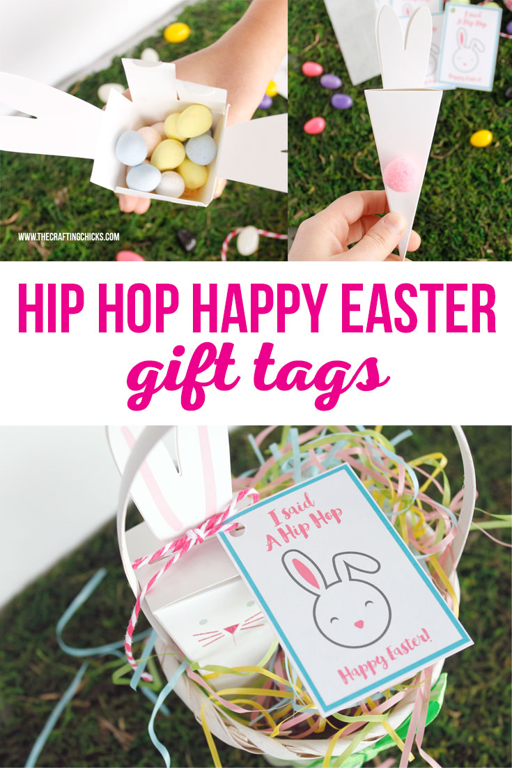 Hip hop happy easter gift tags the crafting chicks hip hop happy easter gift tags negle Images