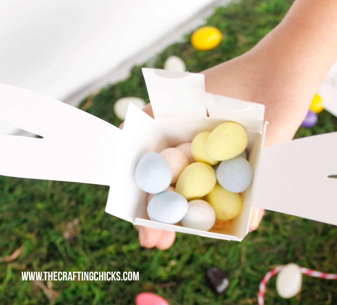 Hip Hop Happy Easter Gift box filled with candy