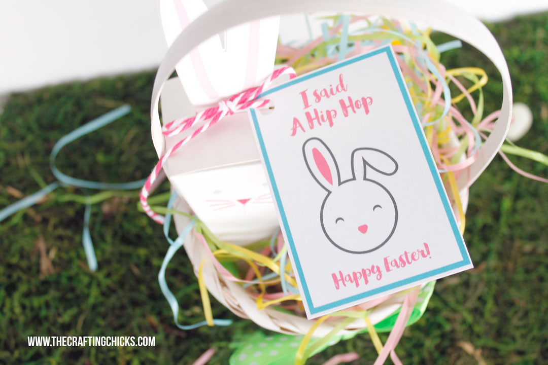 Hip Hop Happy Easter Gift Tags