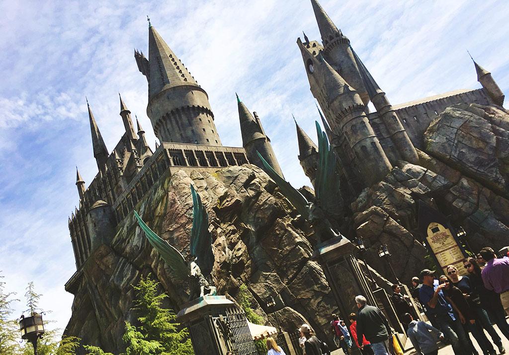 Hogwarts at Universal Studios Hollywood