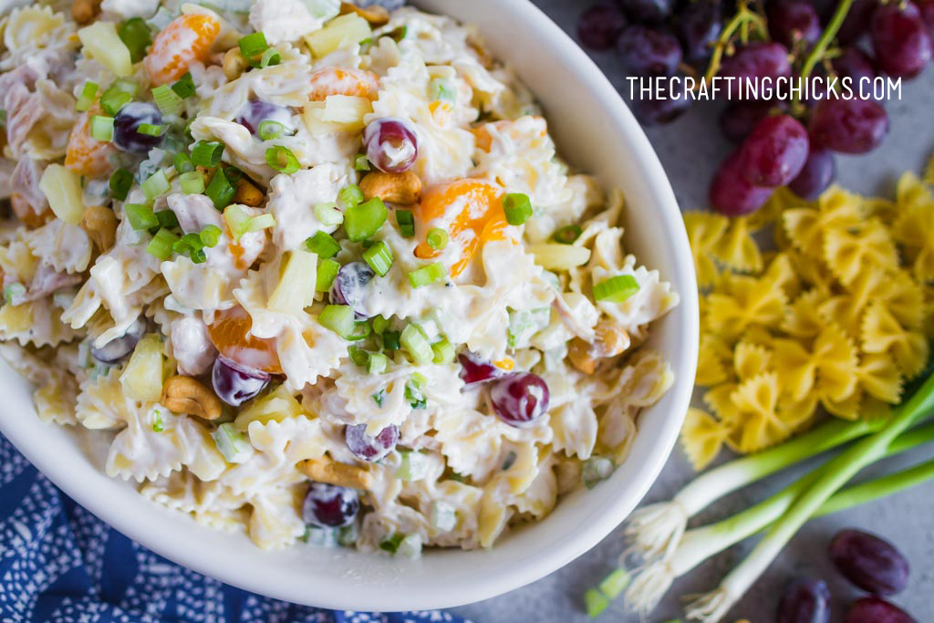 Chicken Bowtie Pasta Salad