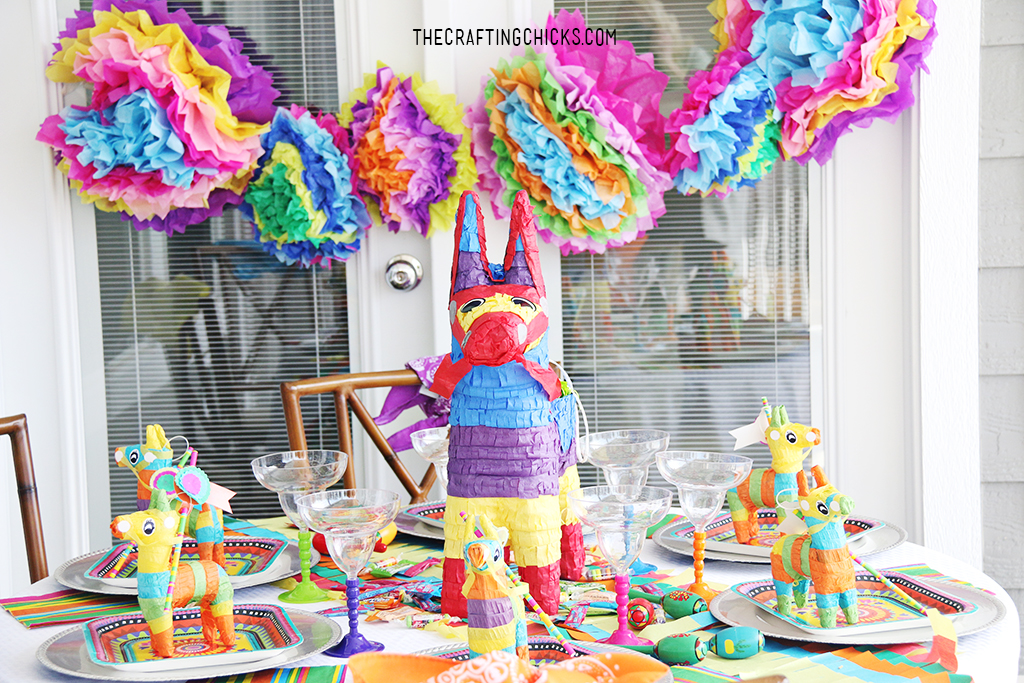 Fiesta Fun Dinner Party Tablescape