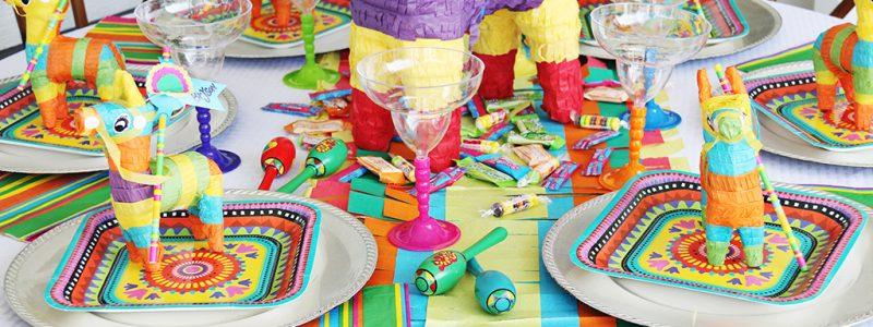 Fiesta Fun Dinner Party Tablescape