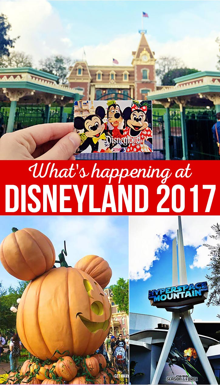 Disneyland 2017 brings limited time entertainment and fun, as well as classic attractions and magic. Decide when you should plan your vacation this year!