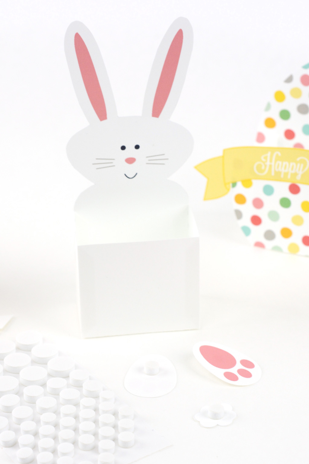 bunny box pieces