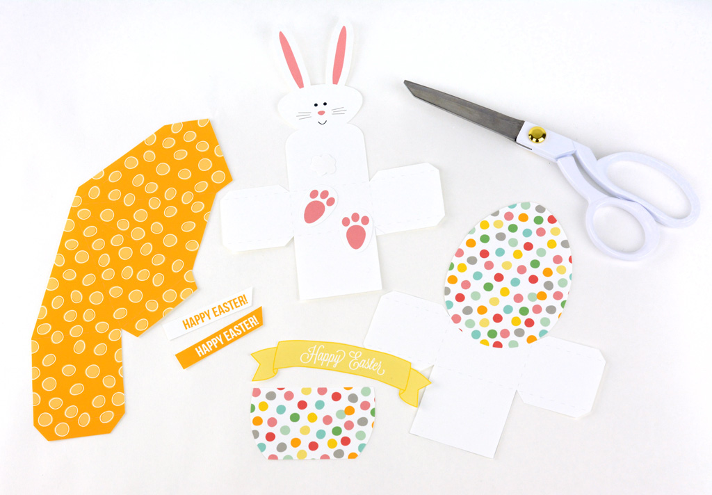 easter treat boxes cut out