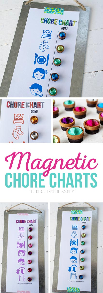 Magnetic Chore Charts
