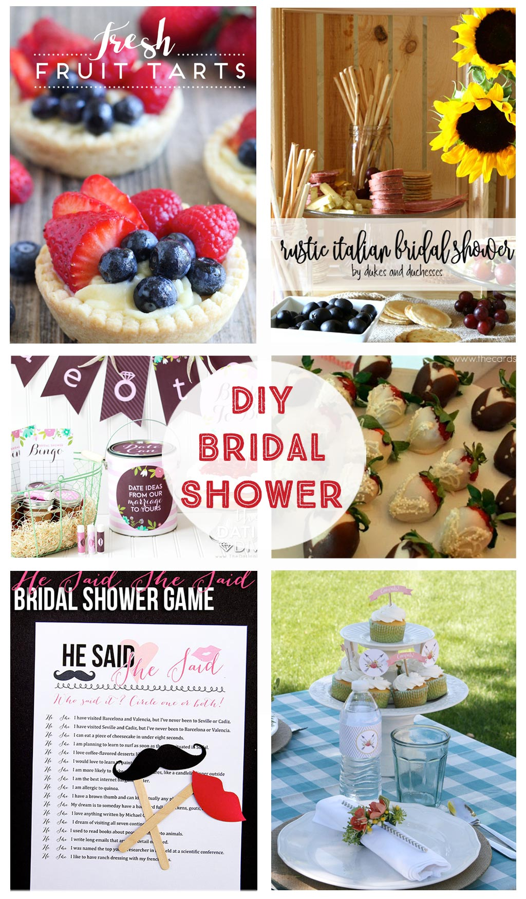 Wedding Gift Ideas Activities : Bridal Shower Printables, Games, Recipes, Decorations, and Gift Ideas ...