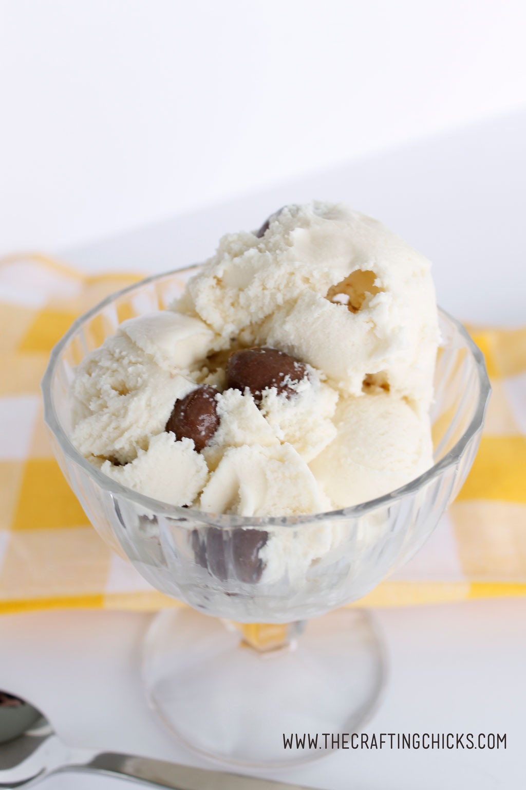 Chunky Monkey Homemade Ice Cream will be a family favorite. So easy to make and tastes delicious.