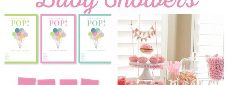 Easy Baby Shower Ideas - Tea Party, Baby Shower Printables, Baby Shower Invitations, Baby Shower Games, and Baby Shower themes