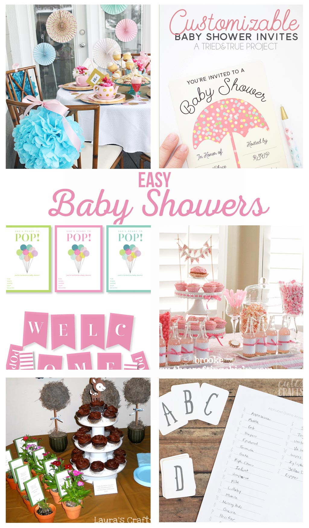 Easy Baby Shower Ideas The Crafting Chicks
