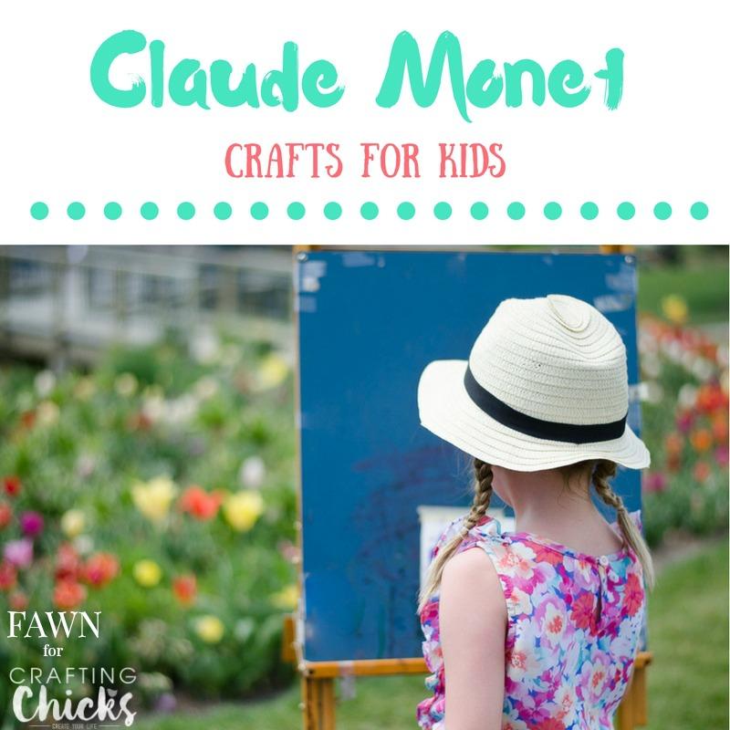 Monet Inspired Art Project For Kids Claude Monet Artist