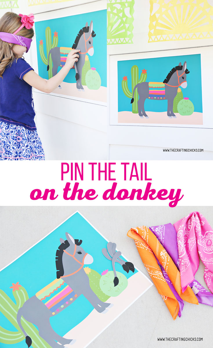 Pin The Tail On Donkey Crafting S