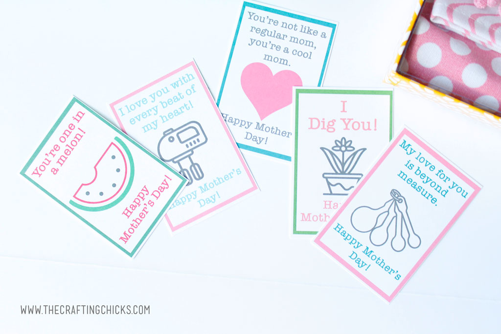 Retro Mother's Day Tags