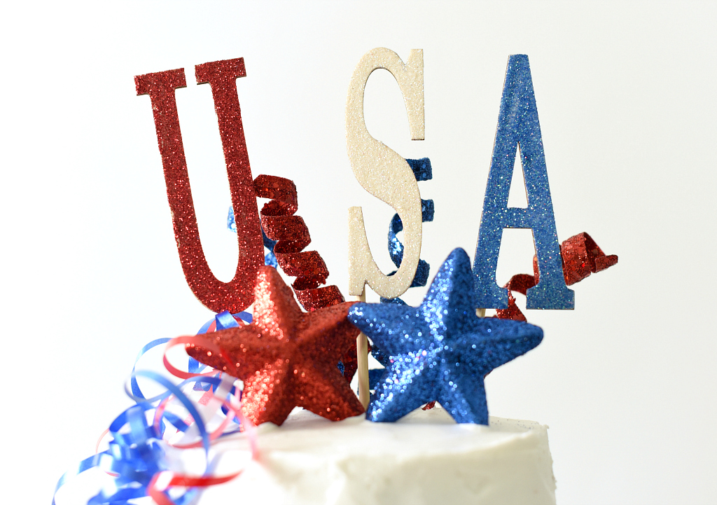 USA Cake Decorations