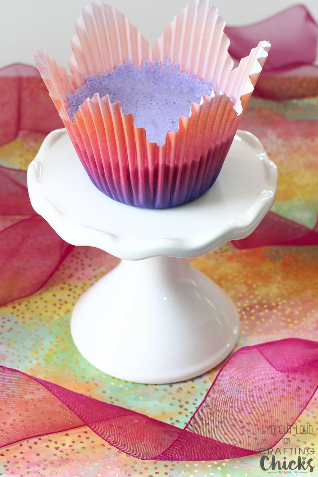 Diy Bath Bomb Cupcakes Gift Idea The Crafting Chicks