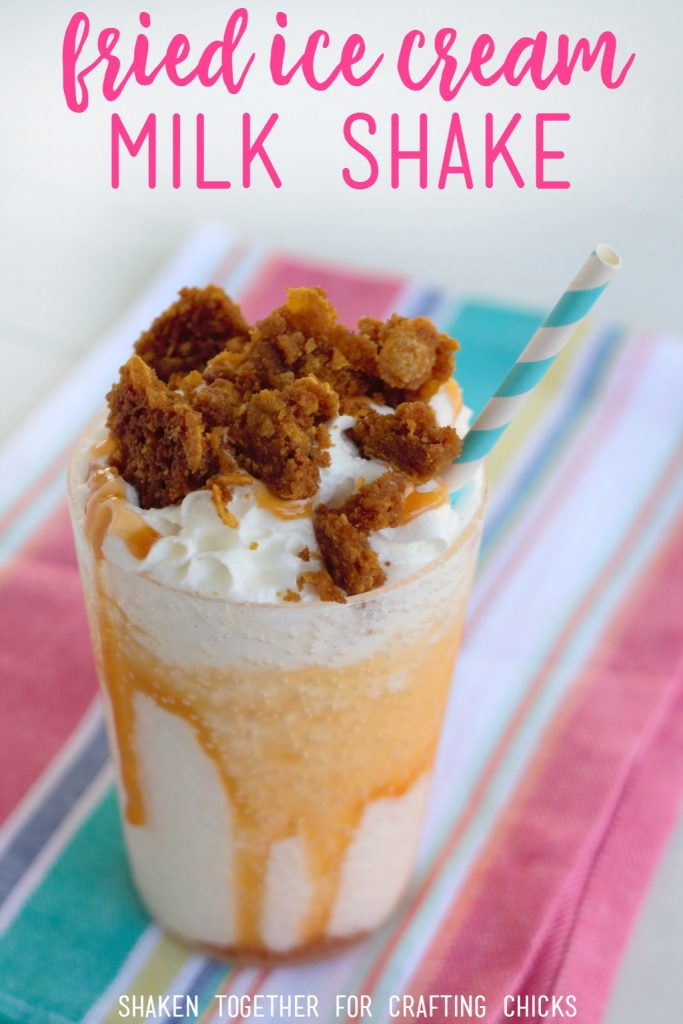 A Fried Ice Cream Milk Shake Is The Perfect Drink For Cinco De Mayo A