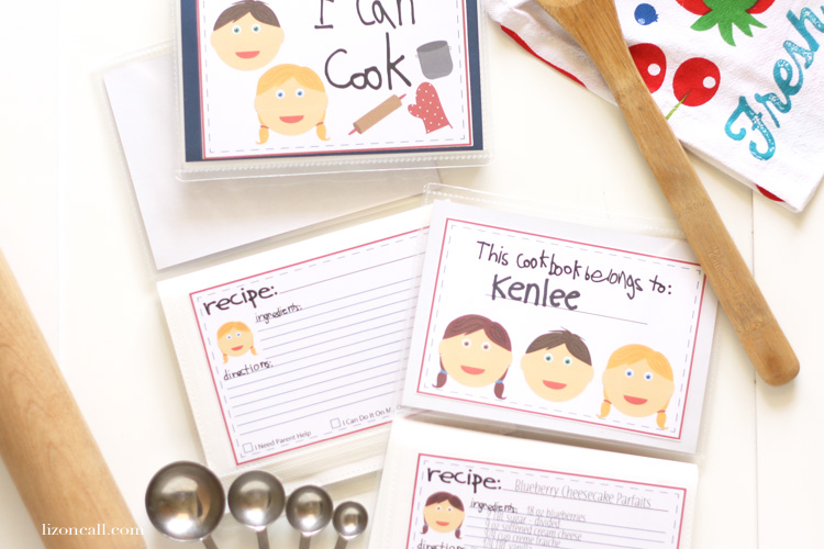 Make a Kid's Cookbook