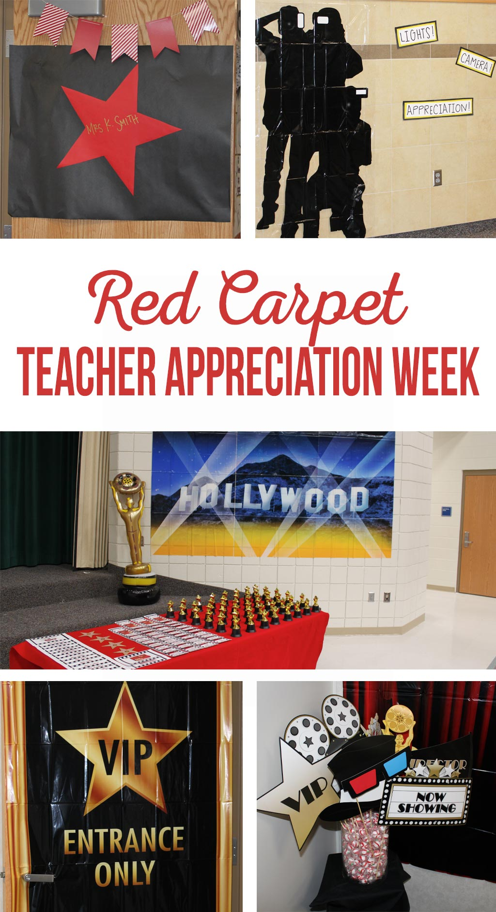 Red Carpet Teacher Appreciation Week The Crafting Chicks