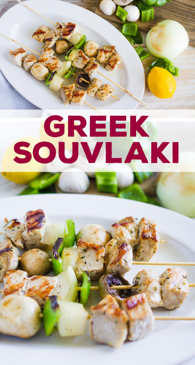 This easy Greek Pork Souvlaki Kebabs recipe is an family recipe that has been passed down. The marinade is an authentic Greek recipe that is easy to make.