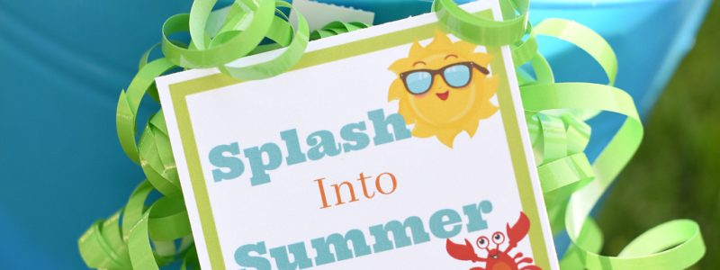 Splash into Summer Gift Idea